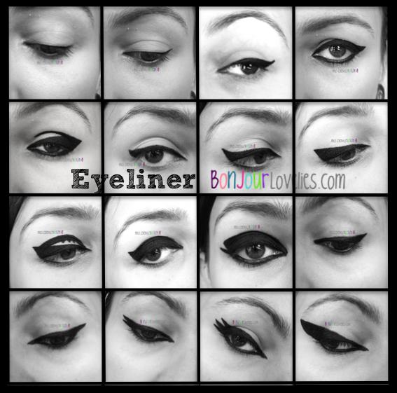 18 fa ons de faire son trait d 39 eyeliner 18 ways to apply your eyeliner video inside - Faire un trait d eye liner ...