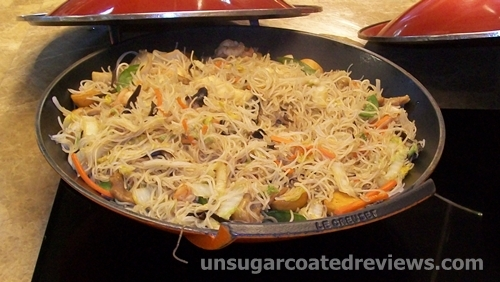 pancit fried noodles