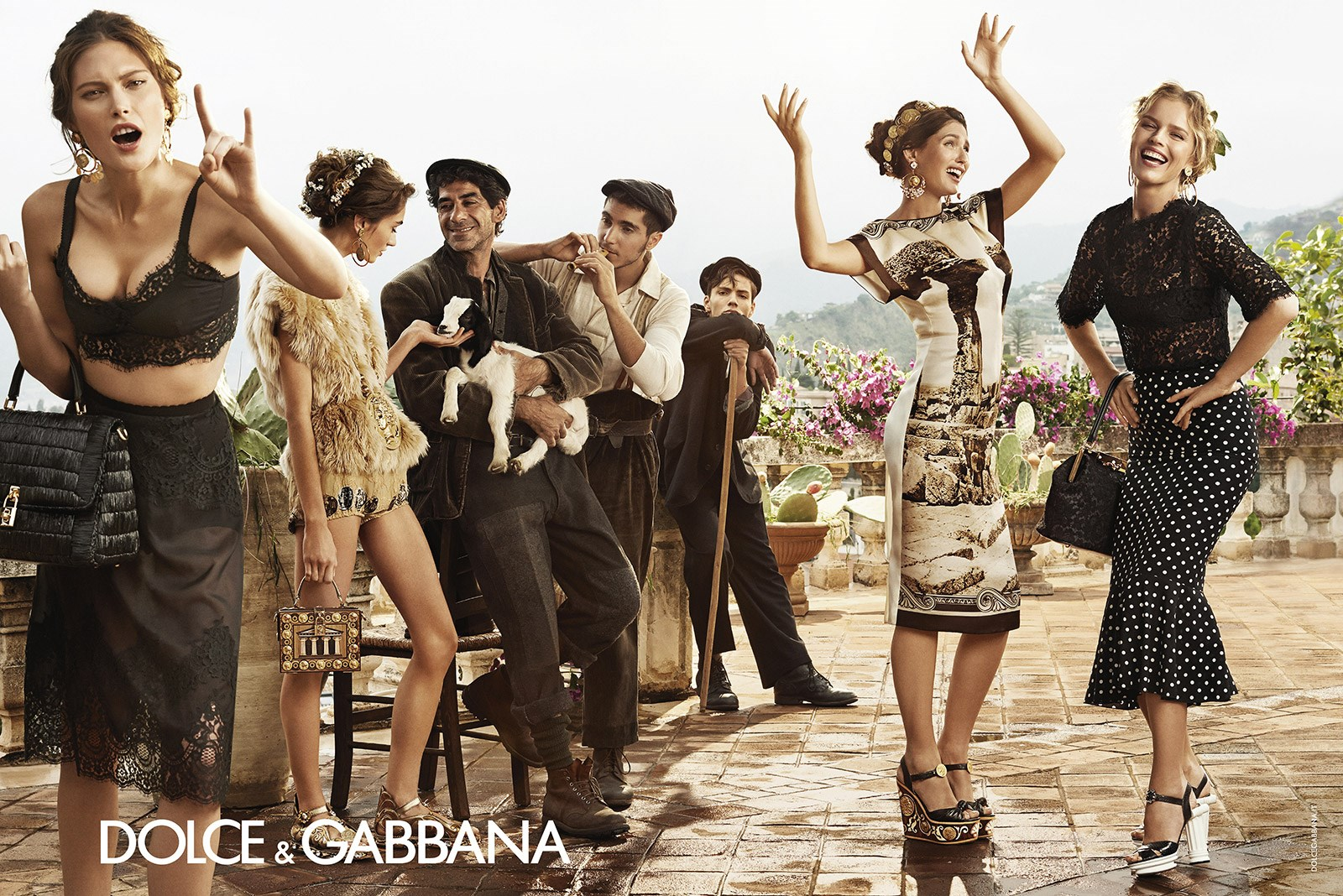 dolce and gabbana advertisement