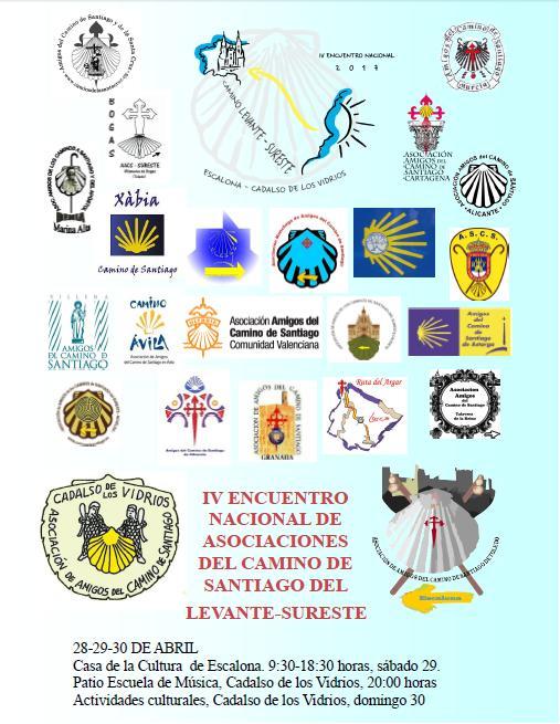 IV ENCUENTRO NACIONAL DE ASOCIACIONES DEL CAMINO DE SANTIAGO LEVANTE-SURESTE