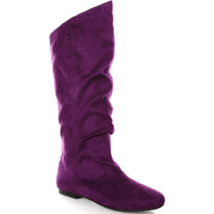 Suede Boots Purple8