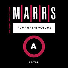 M/A/R/R/S Pump Up The Volume single artwork
