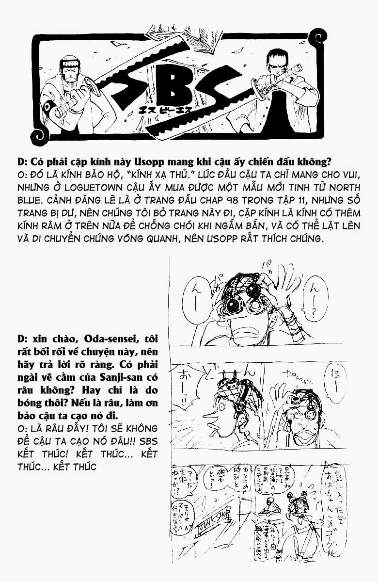 One Piece - Góc Hỏi Đáp SBS Chap 13 - Truyen.Chap.VN