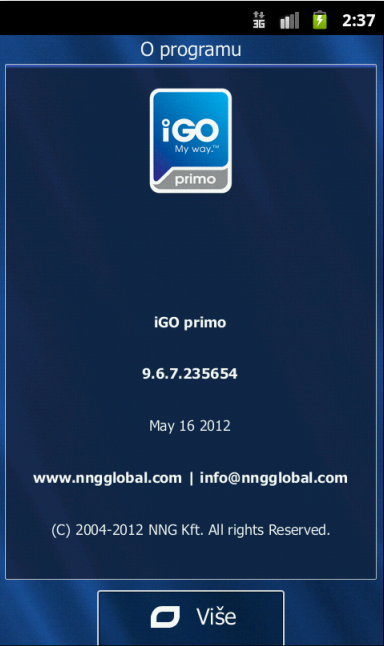free igo my way primo android installation download