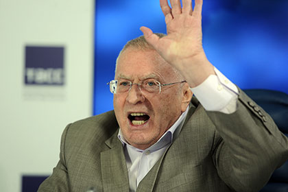 Zhirinovsky proposes to drop a nuclear bomb on the Strait...