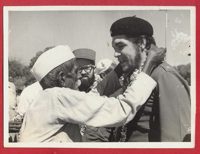 Marxist Revolutionary Che Guevera in India - 1959