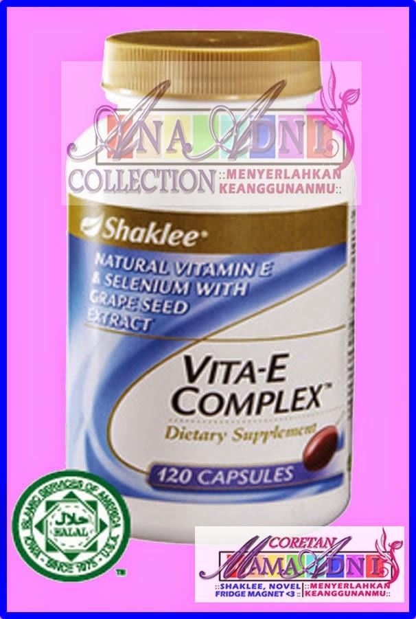 Vagina kembali menggigit dan rapat dengan Vitamin Cinta Shaklee
