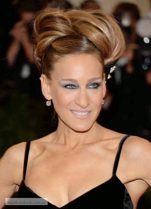 mejores peinados 2014 Gala Met