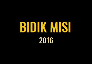 Bidik Misi 2016, data NISN harus benar dan valid / sesuai