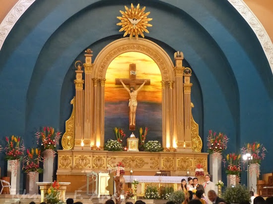 Altar of the Shrine of St. Therese of the Child Jesus, Villamor, Pasay