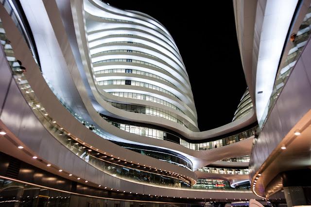 Soho Galaxy, Zaha Hadid Architecture, Urban Complex, Beijing