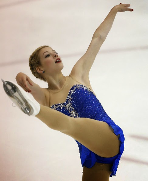 Gracie Gold, an Olympic team bronze medalist who finished fourth individually, posted 182.31 points, 10.34 behind Russian winner Elizaveta Tuktamysheva.