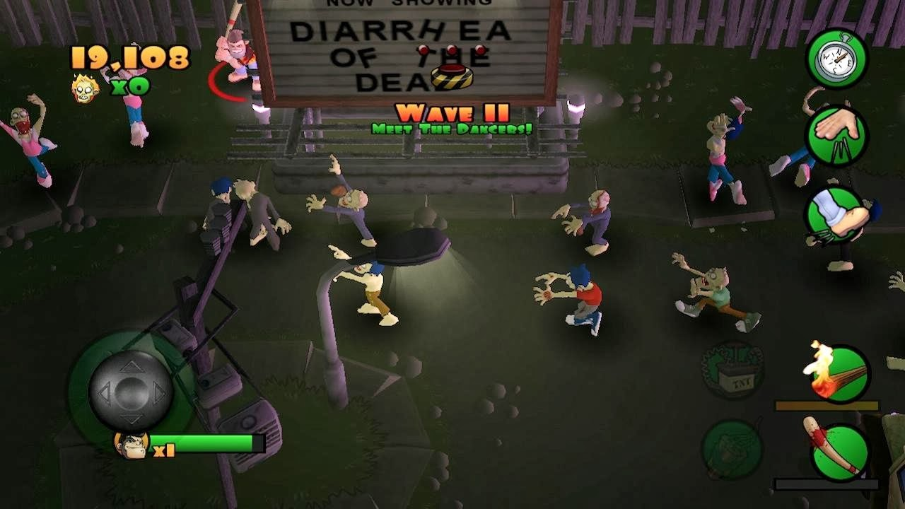 Burn Zombie Burn Android Game