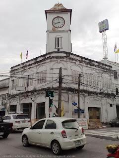 Old Buildings in Phuket