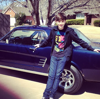 Greyson Chance 2013 New Car Mustang Moses 1966