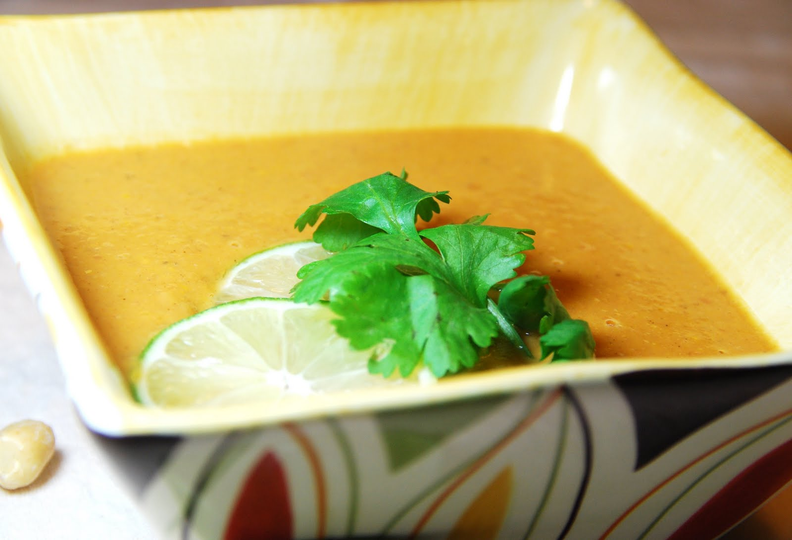 In the Kitchen with Monica: African Sweet Potato and Peanut Soup