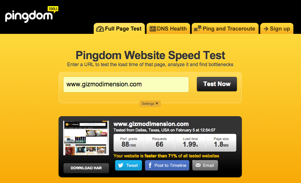 newscode-pingdom-score-without-caching-plugin