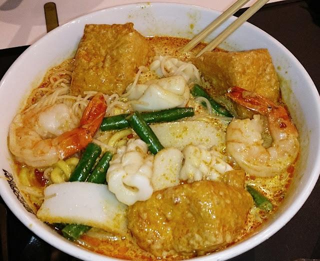 Chinta Ria Soul, Emporium, food court, seafood laksa