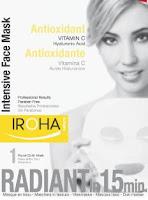 máscara de vitamina C anti oxidante com ácido hialurónico