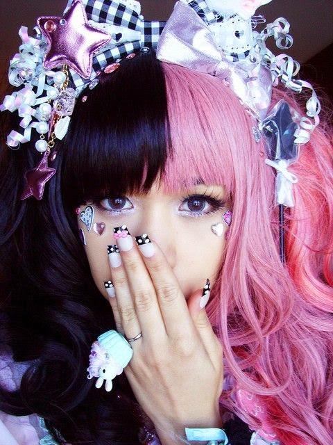 Bag, Cabelo, Crazy and Kawaii Desu, cute, Headband, kawaii, Kawaii Desu, Lolita, Kawaii Hairstyle,