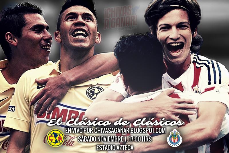 Club de Fútbol América vs Club Deportivo Guadalajara - Jornada 15 Apertura 2014.