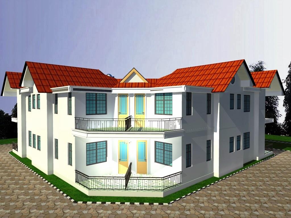 Pvc Windows Tanzania : Cute tanzania house design
