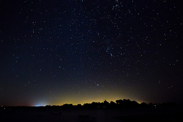 Stars over the Morbihan Gulf