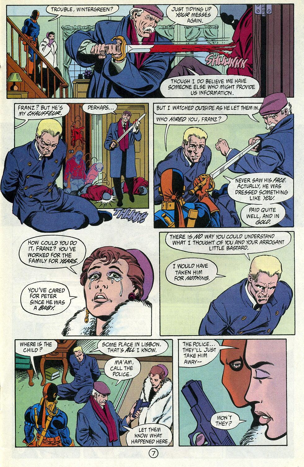 Deathstroke (1991) Issue #2 #7 - English 9