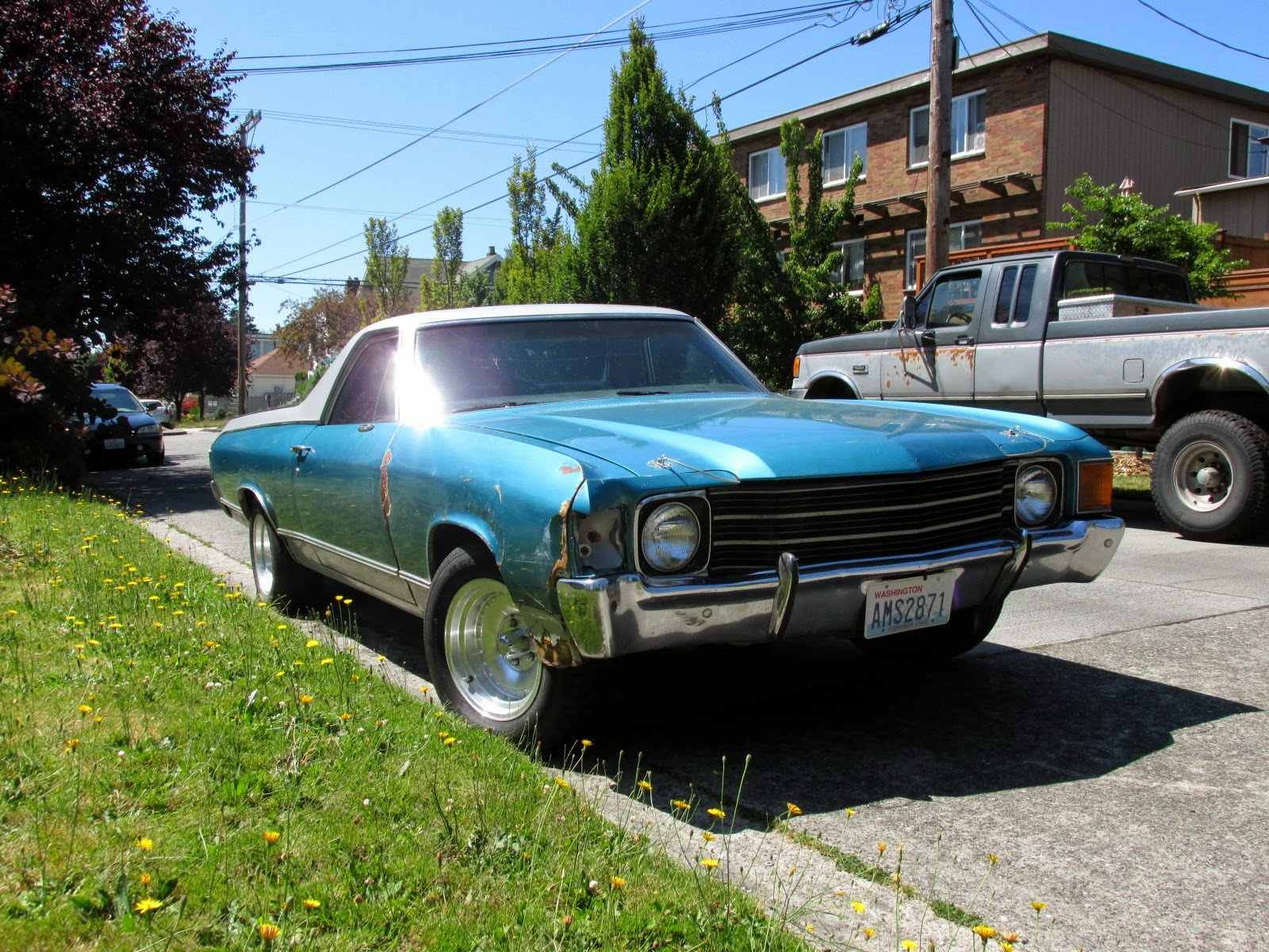 seattle 39 s classics 1972 chevrolet el camino. Black Bedroom Furniture Sets. Home Design Ideas