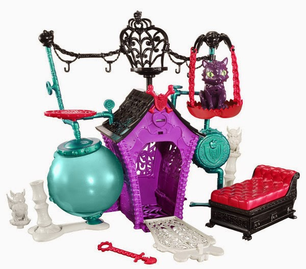 TOYS : JUGUETES - MONSTER HIGH Secret Creepers Crypt  Producto Oficial 2014 | Mattel BDF06 | A partir de 6 años