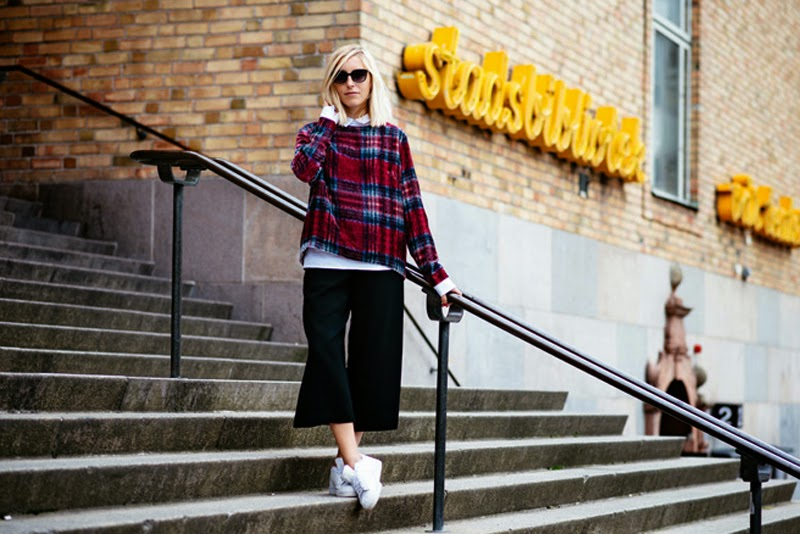 Street Style in Stockholm Fashion Week SS15