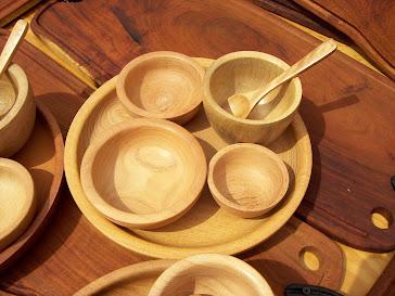 Set de fuente+ cazuelas + bowls+ cuchara