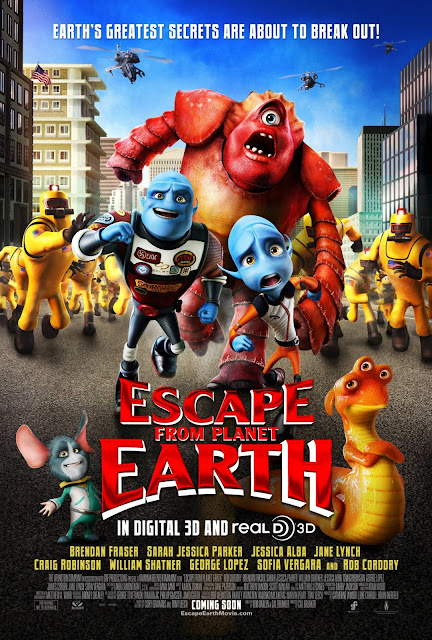 Escape from Planet Earth Animation Movie Poster in HD