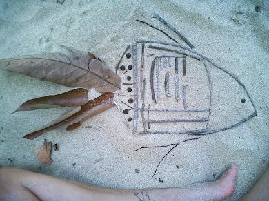 Como pez en la arena