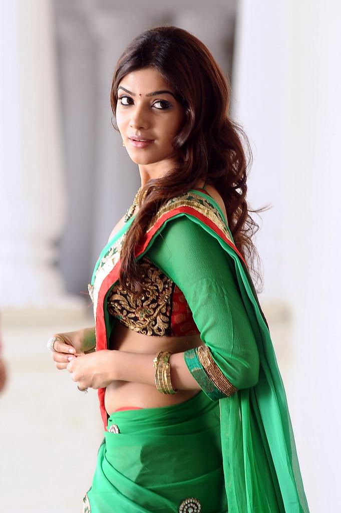 Samantha Ruth Prabhu Hot Half Saree Navel Exposed Dhukudu