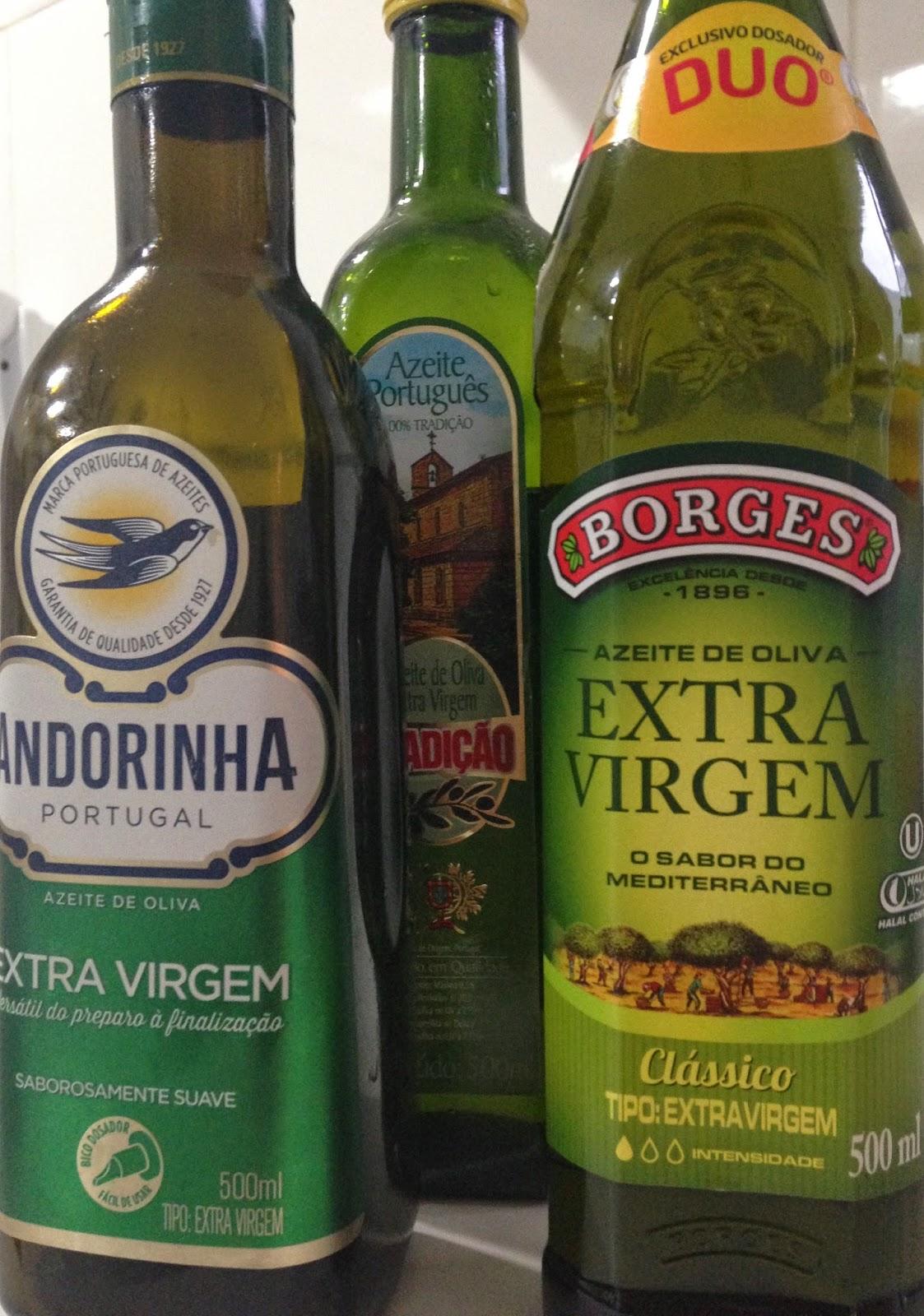 azeite, rico em vitamina E