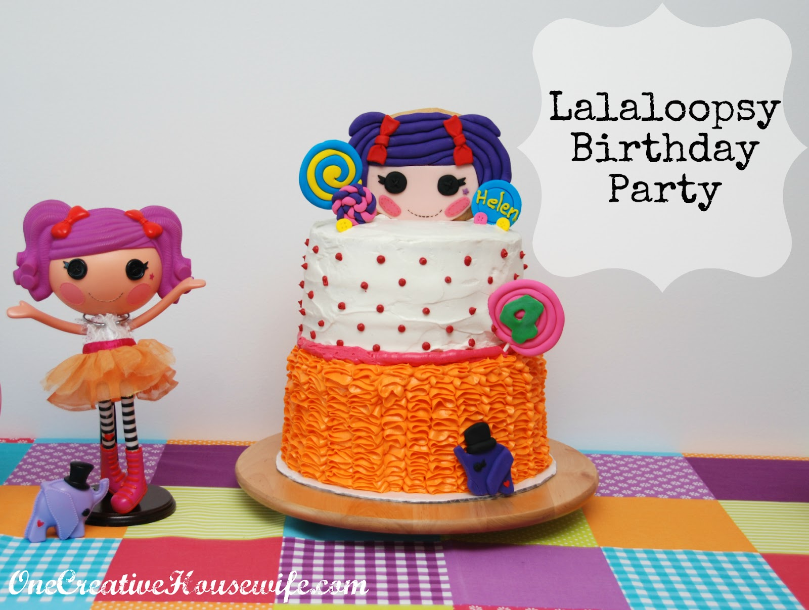 One Creative Housewife Lalaloopsy Birthday Party