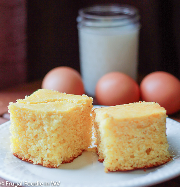 click for a recipe for sweet gluten free cornbread