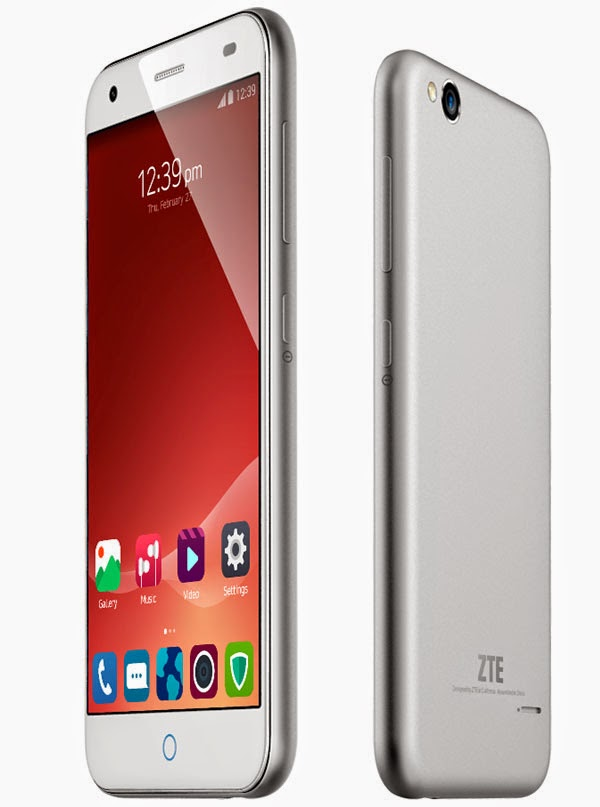 ZTE Blade S6 (4G LTE) phone with 5-inch display and Android 5.0 Lollipop announced