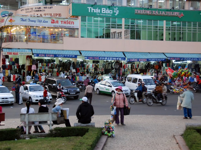 Markets in Vietnam Dalat market