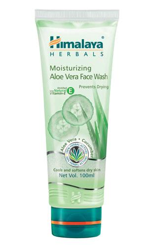 PR:Himalaya Herbals Moisturising Aloe vera Face wash