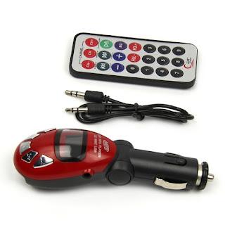 Beatle LCD Car Kit MP3 Audio Player FM Transmitter Modulator FM Radio USB/SD/MMC