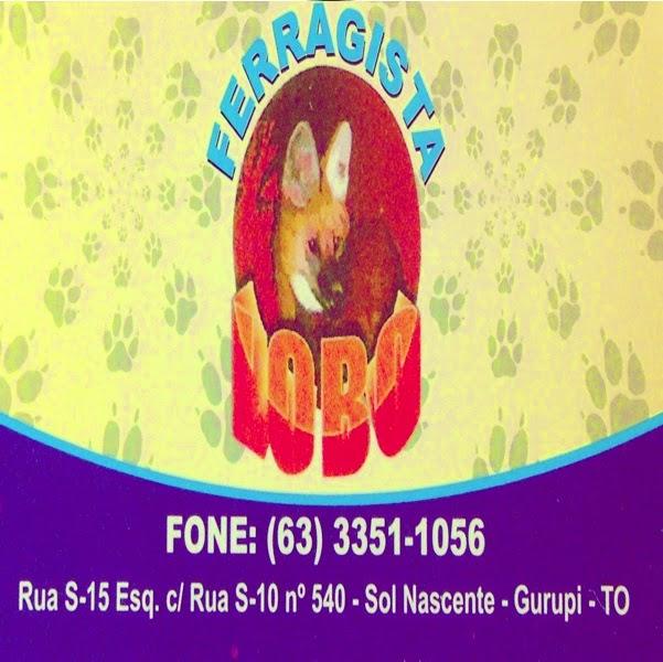 Ferragista Lobo - Av S-15 - St. Sol Nascente Fone (63)3351-1056