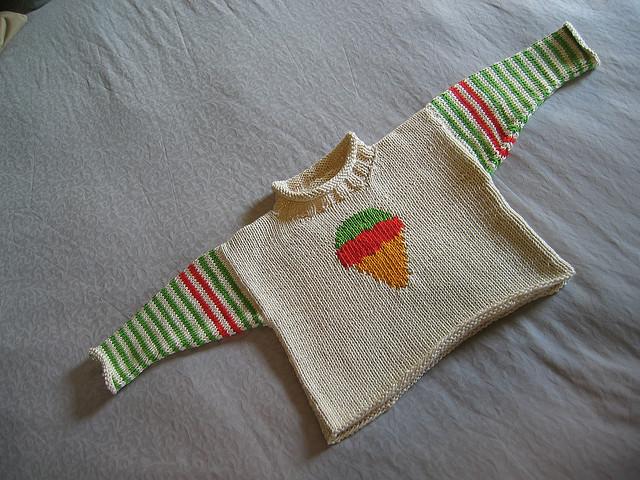 Knitting Intarsia : Knitting with karma colorwork intarsia
