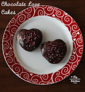 "Gluten Free Chocolate ""Love"" Cakes and intro to new GF Blog– My Gluten-Free Kitchen"