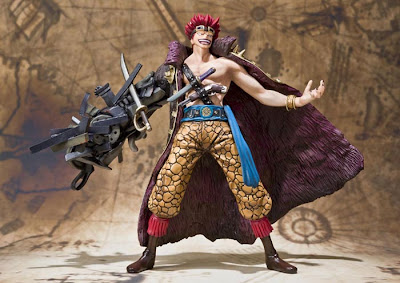 "Figuarts ZERO One Piece series Eustass ""Captain"" Kid"