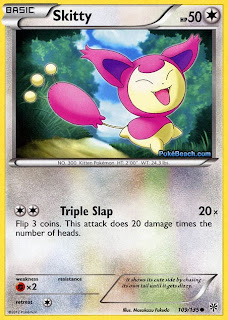 Skitty Plasma Storm Pokemon Card