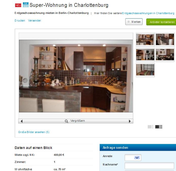 Berlin Wohnung Mieten Charlottenburg