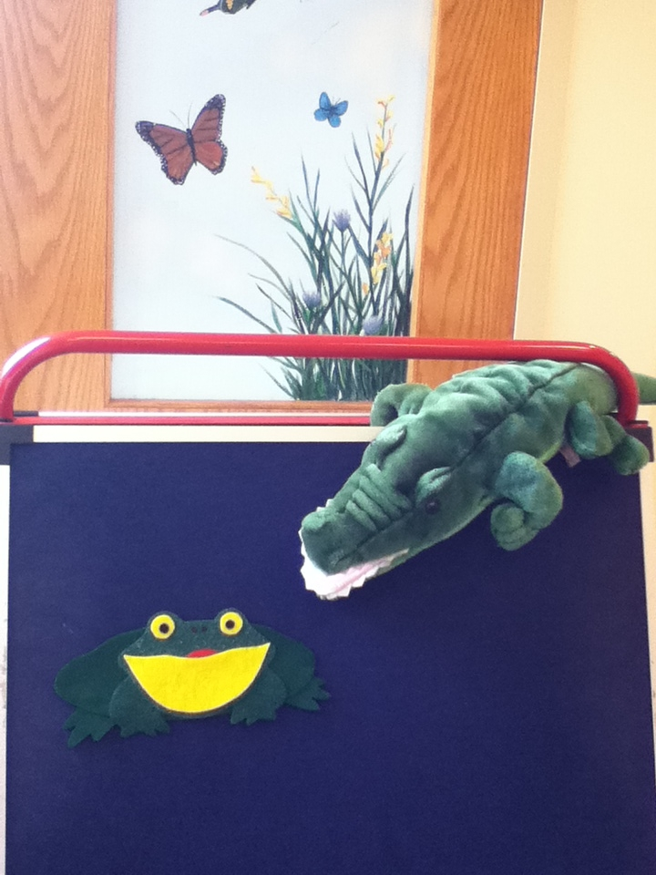 storytime abc s flannel friday the wide mouthed bullfrog
