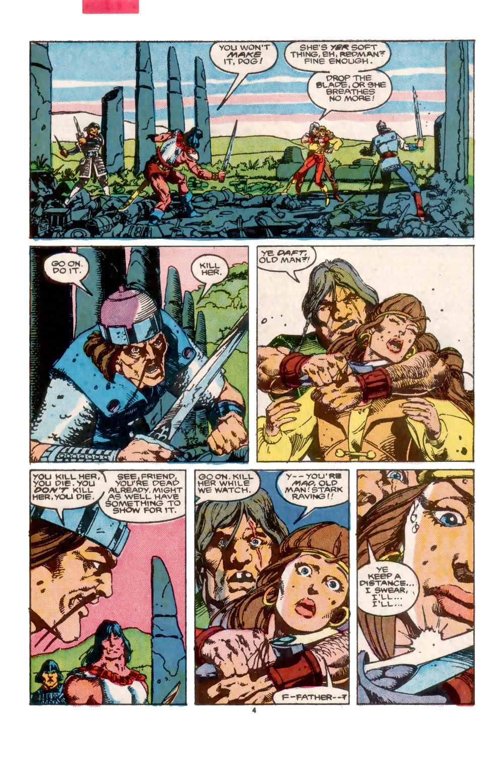 Conan the Barbarian (1970) Issue #202 #214 - English 5